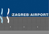 Zagreb Airport – natpis Airside
